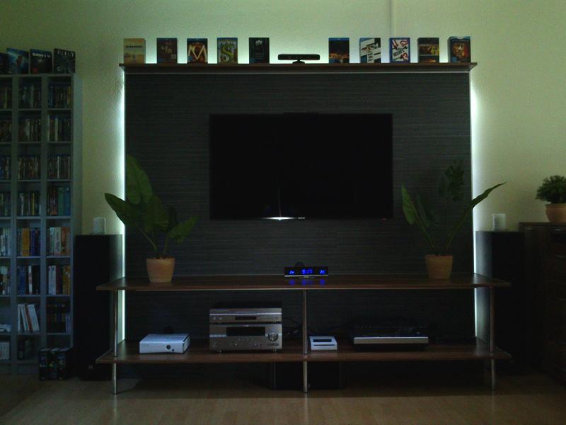 Fernseher Wand Deko ~ Beste Home Design Inspiration, Modern Dekoo